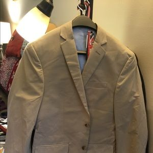 Bar 3 tan blazer